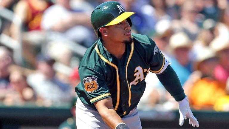 Franklin Barreto descendido por Atléticos de Oakland